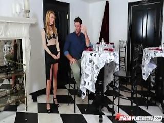 Dp Star 3 Tall Blonde Pornstar Blake Eden Deep Throat Blowjob