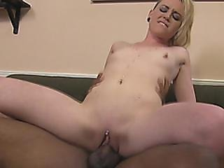 Milf Simone Sonay Sucking Huge Black Cock Before Her Stepdaughter Starts To Ride It