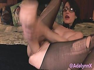 Adalynnx - Monster Toy Cock In My Pussy Preview