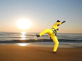 Karate Foot Fetish