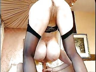 Hot German Busty Blonde Granny Cougar Who Is She