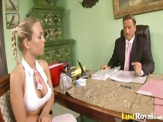 Attractive Mia Leone Gets Tricked By Her Boss Mp4