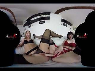 Ffstockings - Afternoon Lesbian Delight