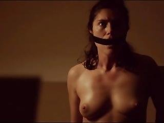 Topless Gagged Captive