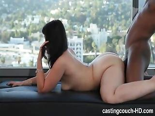 Audition, Booty, Brunette, Interracial
