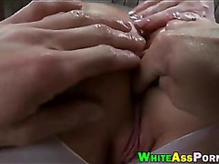 Big Booty Ho Gets Her Anal Ripped Good By Throbbing Hard Rod