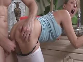 Young Boy Help Stepmother