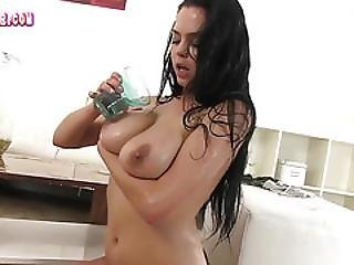 Ashley Loves Watersports And Stripping