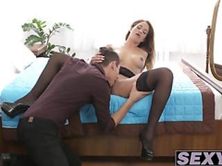Horny And Hot Nicole Needs This Cock For Satisfaction