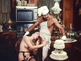 Jeffrey Hurst & Lorraine Alraune Hot Vintage Kitchen Sex