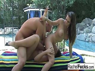 Rachel In A Hot Threesome