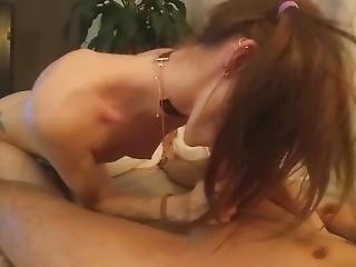 Petite Teen Fucks Hard And Sucks Cum Out Of Bf
