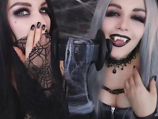 Vampire Asmr Licking