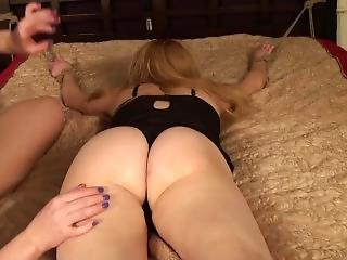 Army Brat Flipped For More Tickling