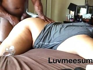 The Naughtiest Homemade Real Life Booty Fuck Ever ! Hard Cum!