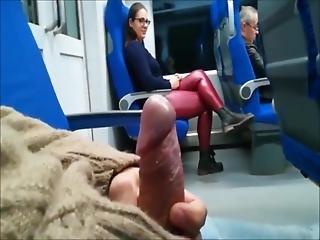 Stranger - Train Blowjob