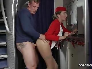 Perfect Fuck To Stewardess