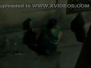 Aunty Caught Pee In Street At Night