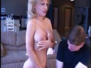 Giant Tit Mumsy Rides A Ssybian