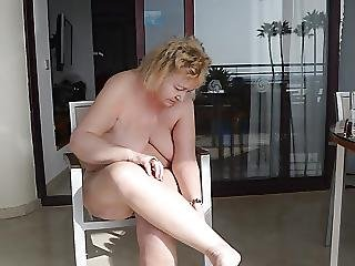 Goldenpussy Blonde And Hairy Mom