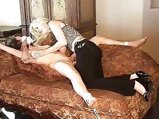 Bondage, Lesbian, Strapon, Thief