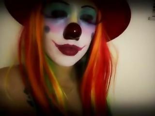 ametérské, klaun, cosplay, bohyně, pov, webkamera