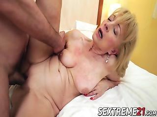 knallen, blondine, sperma, muschi, omi, harter porno, alt