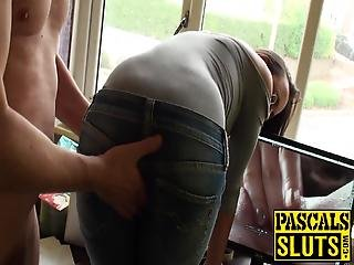 Young English Beauty Ass Fucked In A Rough Sex Session