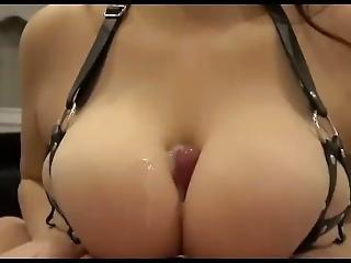 Five Minute Cumshot Compilation- Cum Between Her Tits