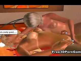 3d Cartoon Shemale Fucks The Babysitter