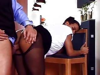 Hard fucked Black maid
