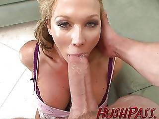 Sexy Mom Likes Biggest Young White Cock
