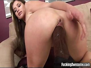 Busty Babe Felony Gets Fucked By A Machine