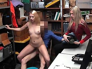 Blonde Thief Sierra Pounded By The Detective