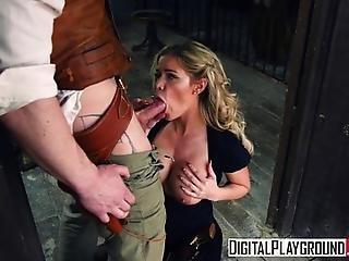 Digitalplayground - Rawhide Scene 2 Jessa Rhodes Misha Cross Luke Hardy