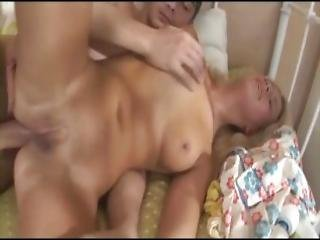 Blonde Russian Anal Teen With Toy