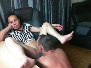 Nepali Asian Couple Watching Porn And Licking Pussy So Hot