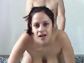 amatör, anal, stortuttad, brunett, knullar