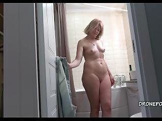 Blonde Milf Cindy - Hidden Spy Cam
