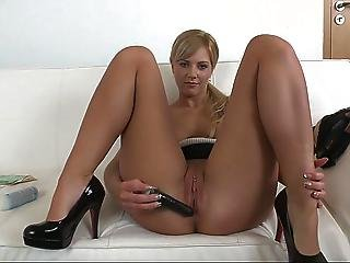 Shy Nathaly Spreading Her Legs Wide