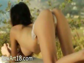 Amazing Body Painting In Art Movie