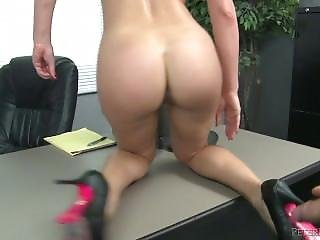 Cherie De Ville Gorgeous Slut Gets Fucked