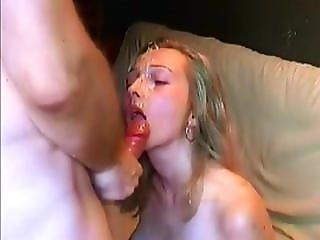 Eileen From Dates25.com - Big Thick Huge Cumshot Facial