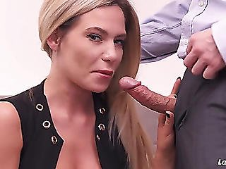 Sexy Russian Golden-haired Having Sex