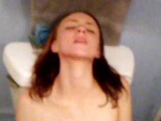 Us Masturbating And She Swallows My Load