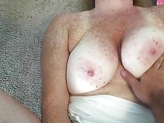 Pink Panties Doggystyle Fuck Accidental Facial