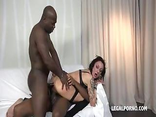 Lyna Cypher Loves Black Meat