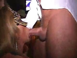 Swinger Wives Tucking Into Each Other At The Club