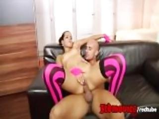 Latina Teen Ferrera Gomez gers her tight butthole stretched