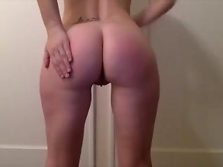 Self-spanking